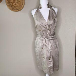 Ann Taylor Button Down Utility Dress